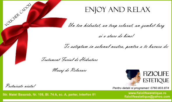 Voucher Martisor Enjoy and Relax