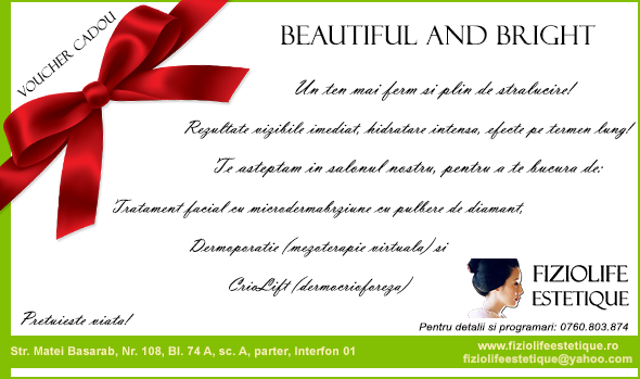 Voucher Martisor Beautiful and Bright